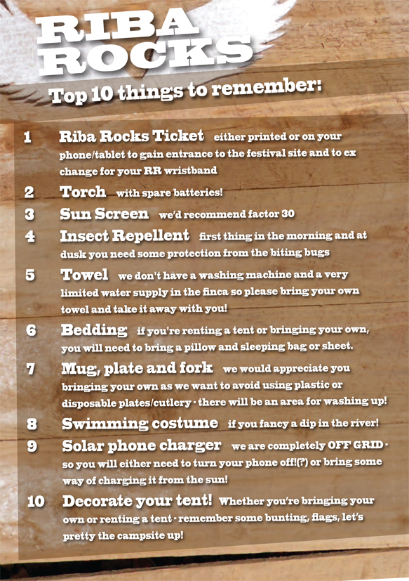 Top 10 things to remember