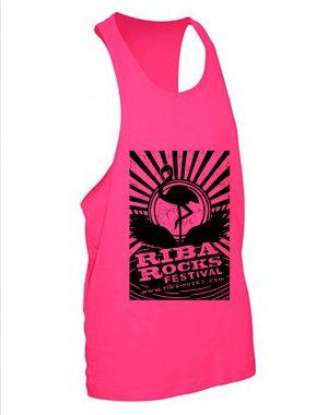 Ibiza Vest – Pink Flamingo